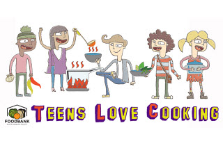 Teens Love Cooking program logo
