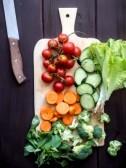 Fresh Salad Prep