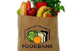Foodbank grocery bag