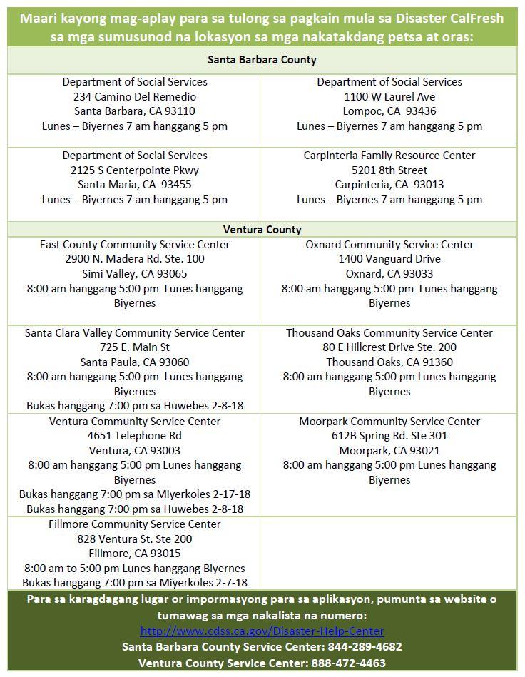 updated tagalog dsnap flier – FoodBank